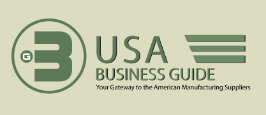 USA business guide is a list of certified American manufacturing, suppliers, wholesale vendors and US companies with international background to support worldwide business... usa automation, apparel, lingerie, shoes, furniture, usa beauty care, health care, chemical, automotive, usa electronics, industrial equipment, communications, tiles, usa costruction, wine, vacations, real estate... in the United States of America